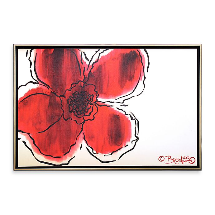 Alternate image 1 for The Flower without 26-Inch x 38-Inch Wall Art