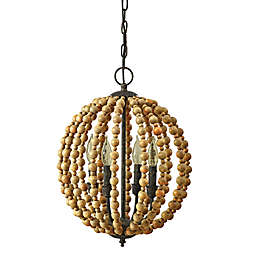 Bee & Willow™ Sequoia Beaded Chandelier in Natural