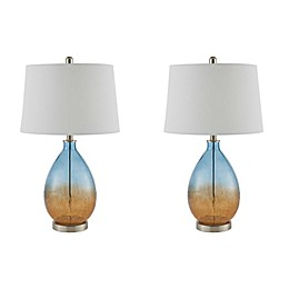 510 Design Table Lamp in Blue (Set of 2)
