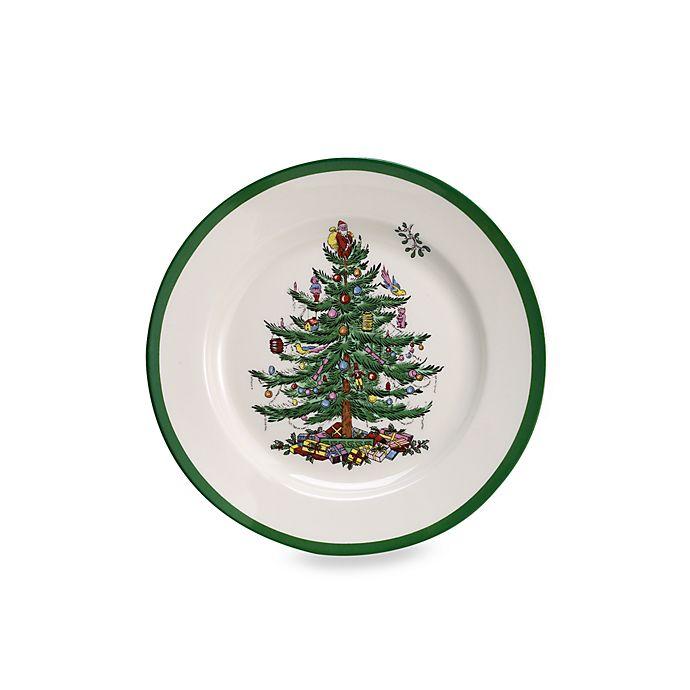 Alternate image 1 for Spode® Christmas Tree Salad Plates (Set of 4)