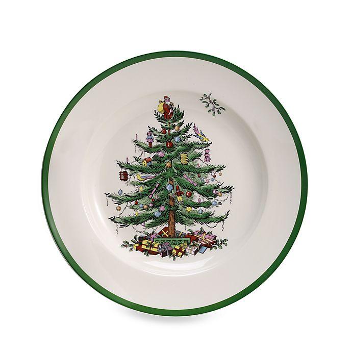 Alternate image 1 for Spode® Christmas Tree Dinner Plates (Set of 4)