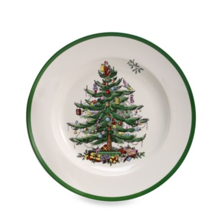 Spode Christmas Tree Dinner Plates Set Of 4 Bed Bath Beyond