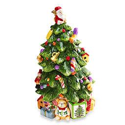 Spode® Christmas Tree 12-Inch Tree-Shaped Cookie Jar