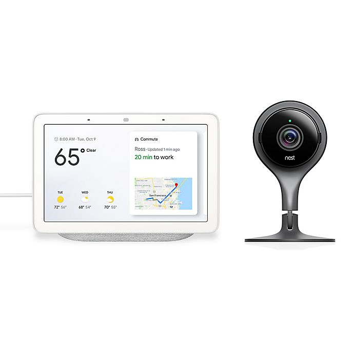 Google Nest Hub And Google Nest Indoor Security Camera
