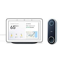 Google Nest Hello Video Doorbell with Bonus Google Nest Hub