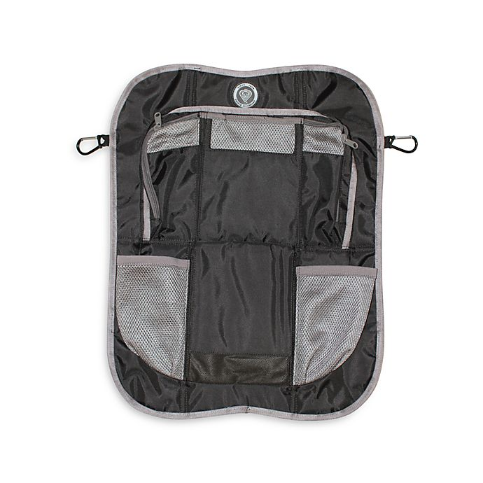 Alternate image 1 for Prince Lionheart® Backseat Organizer in Black/Grey