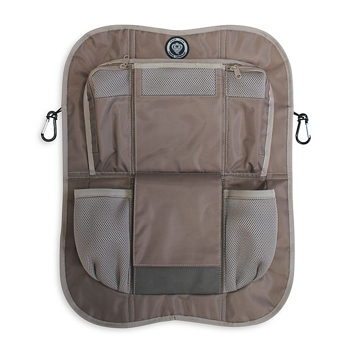 Alternate image 1 for Prince Lionheart® Backseat Organizer in Brown/Tan
