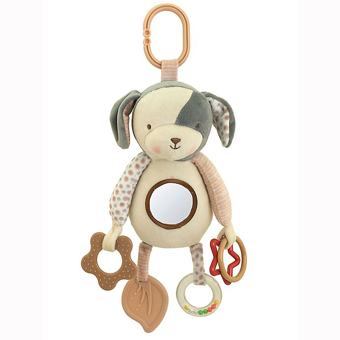 Alternate image 1 for Bunnies by the Bay™ 11-Inch Puppy Developmental Plush Toy in Tan