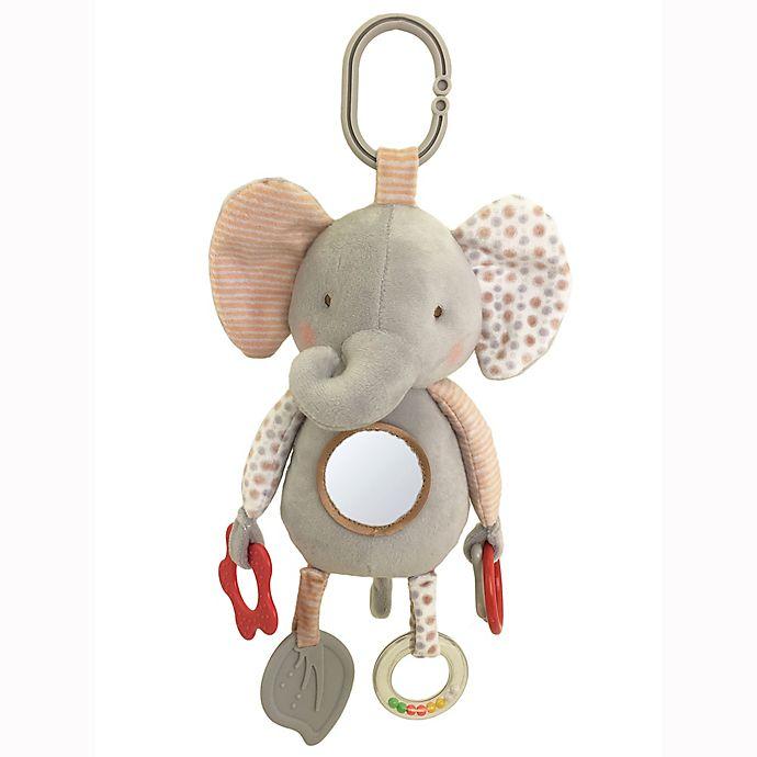 Bunnies by the Bay™ 11-Inch Elephant Developmental Plush Toy in Grey