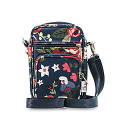 Ju-Ju-Be® Mini Helix Midnight Posy Messenger Diaper Bag in Navy