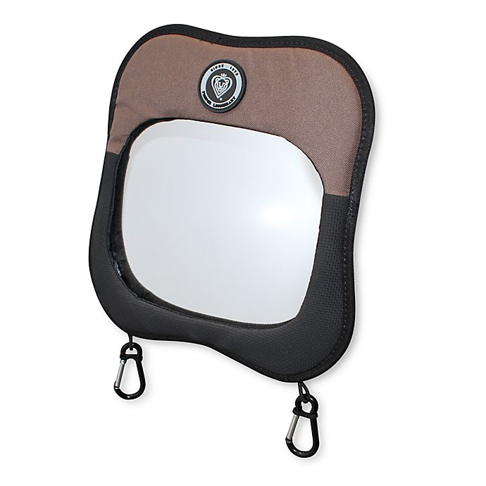 Alternate image 1 for Prince Lionheart® Child View Car Back Seat Mirror in Brown/Tan