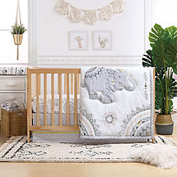 The Peanutshell® Boho Elephant Crib Bedding Collection