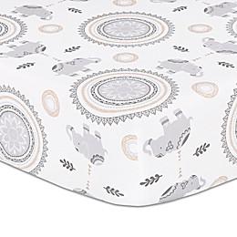 The Peanut Shell® Boho Fitted Crib Sheet