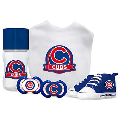 Baby Fanatic MLB Chicago Cubs 5-Piece Gift Set