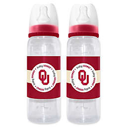 Baby Fanatic Collegiate 2-Piece Baby Bottle Gift Set Collection