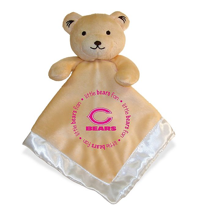 Alternate image 1 for Baby Fanatic® NFL Chicago Bears Security Bear in Tan/Pink
