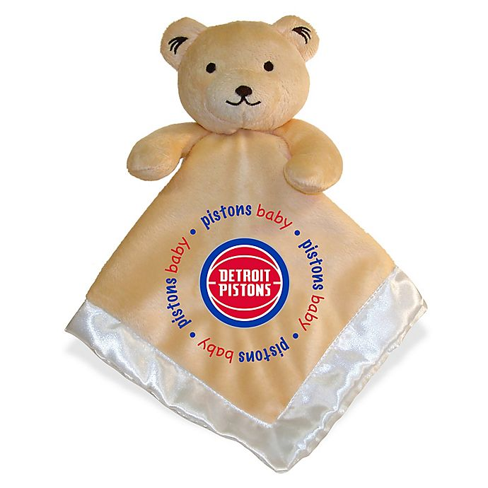 Alternate image 1 for Baby Fanatic® NBA Detroit Pistons Security Bear