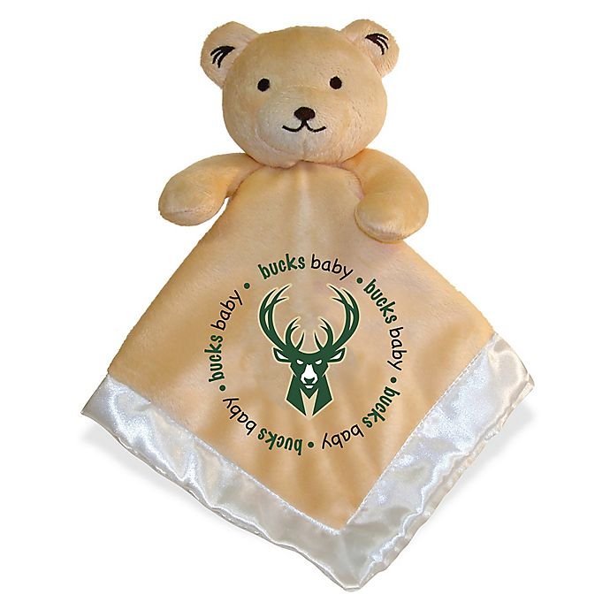 Alternate image 1 for Baby Fanatic® NBA Milwaukee Bucks Security Bear