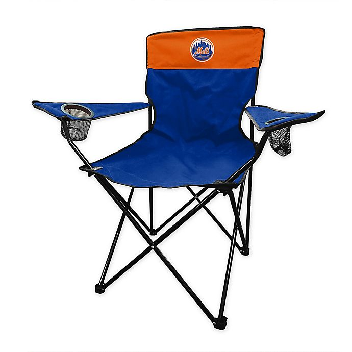 Cool Mlb New York Mets Legacy Folding Chair Bed Bath Beyond Gmtry Best Dining Table And Chair Ideas Images Gmtryco