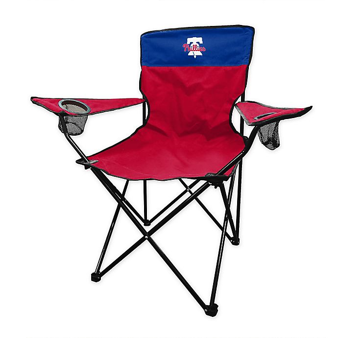 Magnificent Mlb Philadelphia Phillies Legacy Folding Chair Bed Bath Caraccident5 Cool Chair Designs And Ideas Caraccident5Info