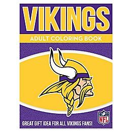NFL Minnesota Vikings Adult Coloring Book