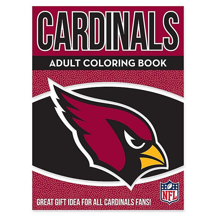 NFL Arizona Cardinals Adult Coloring Book | Bed Bath & Beyond