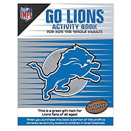 NFL Go Detroit Lions Activity Book