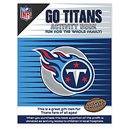 NFL Go Tennessee Titans Activity Book