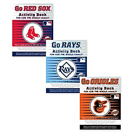 MLB Go Activity Book