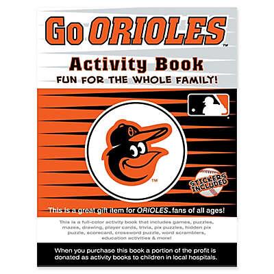 MLB Go Baltimore Orioles Activity Book