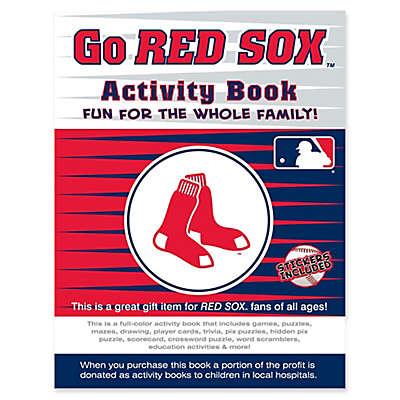 MLB Go Boston Red Sox Activity Book