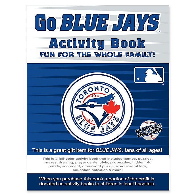 Alternate image 1 for MLB Go Toronto Blue Jays Activity Book
