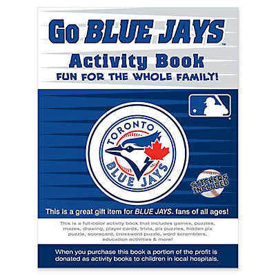 MLB Go Toronto Blue Jays Activity Book