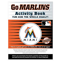 MLB Go Miami Marlins Activity Book
