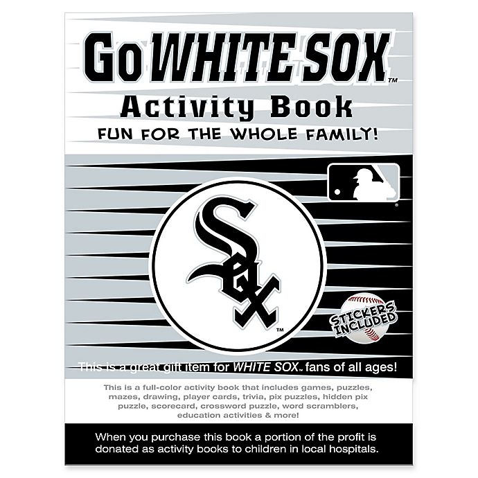 Alternate image 1 for MLB Go Chicago White Sox Activity Book