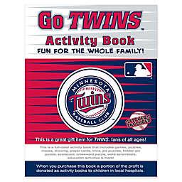 MLB Go Minnesota Twins Activity Book