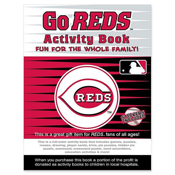 Alternate image 1 for MLB Go Cincinnati Reds Activity Book