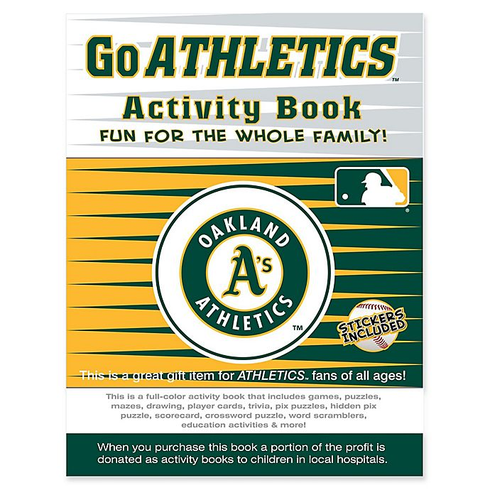 Alternate image 1 for MLB Go Oakland Athletics Activity Book