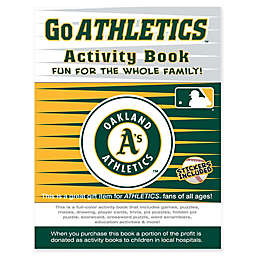 MLB Go Oakland Athletics Activity Book