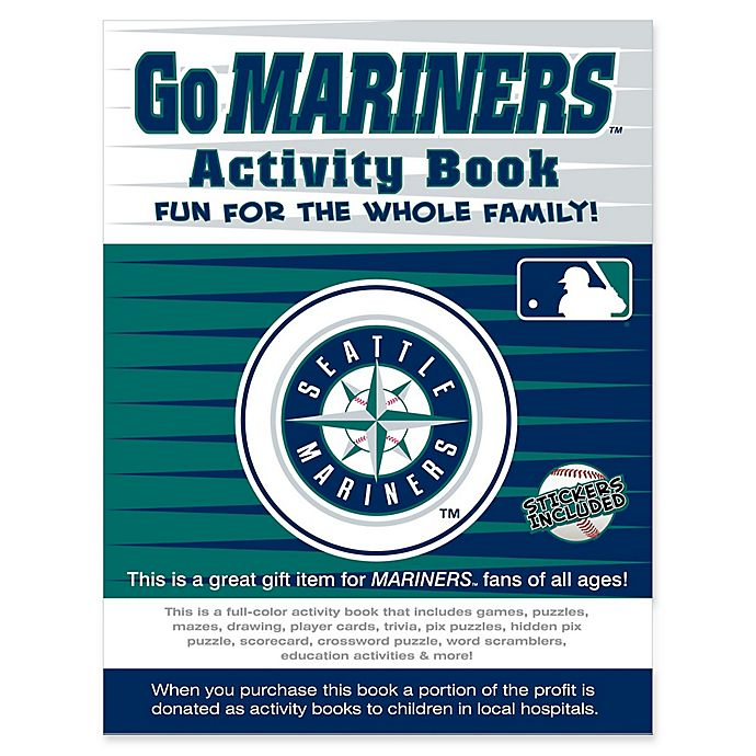 Alternate image 1 for MLB Go Seattle Mariners Activity Book