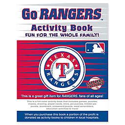 MLB Go Texas Rangers Activity Book