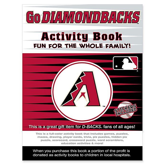 Alternate image 1 for MLB Go Arizona Diamondbacks Activity Book