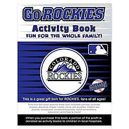MLB Go Colorado Rockies Activity Book