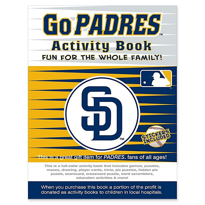 lowest price 12e99 98f62 MLB Go San Diego Padres Activity Book | buybuy BABY