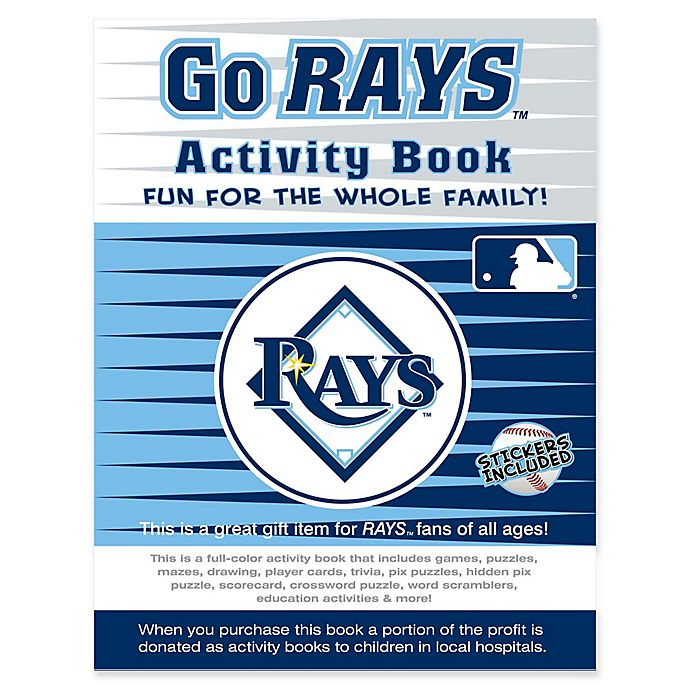 Alternate image 1 for MLB Go Tampa Bay Rays  Activity Book