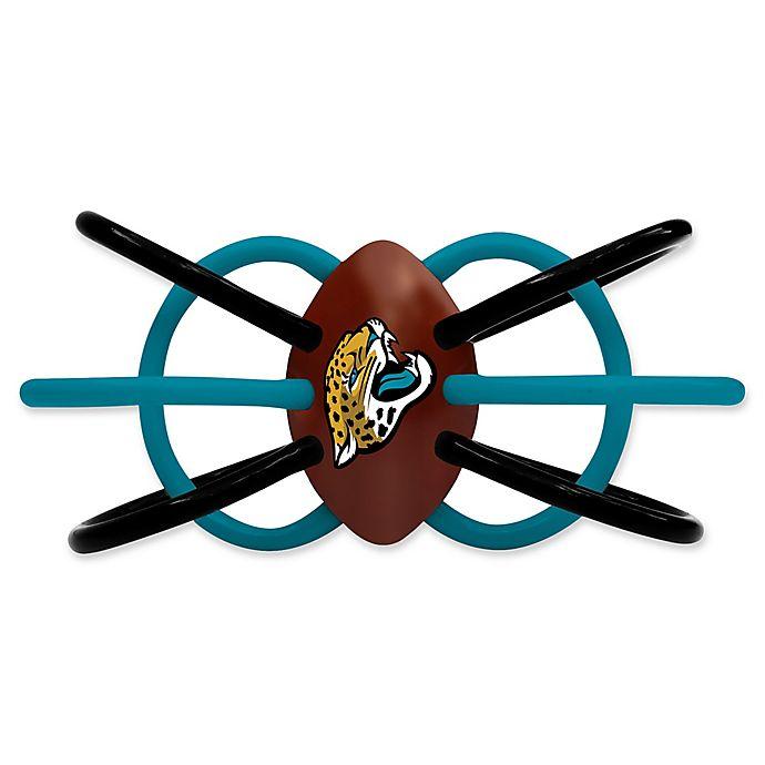 Alternate image 1 for NFL Jacksonville Jaguars Teether & Rattle