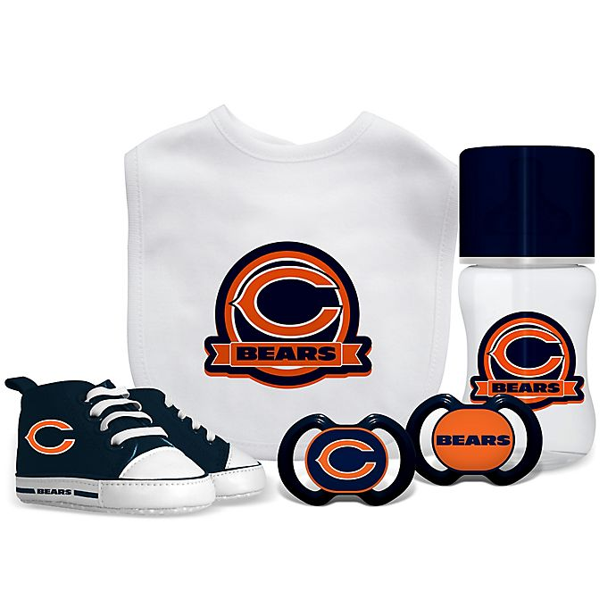 4ebf9c1c941 Baby Fanatic NFL Chicago Bears 5-Piece Gift Set