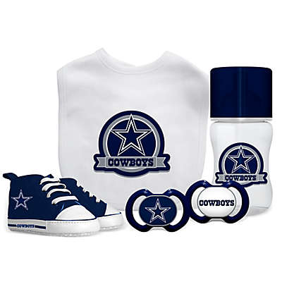 Baby Fanatic NFL Dallas Cowboys 5-Piece Gift Set