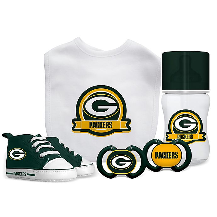 37aa2f037 Baby Fanatic NFL Green Bay Packers 5-Piece Gift Set