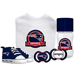 Baby Fanatic NFL New England Patriots 5-Piece Gift Set